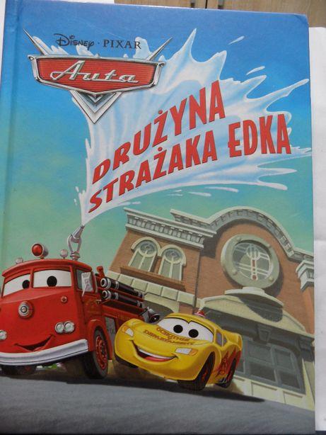 Książka: Auta. Drużyna Strażaka Edka, format A4