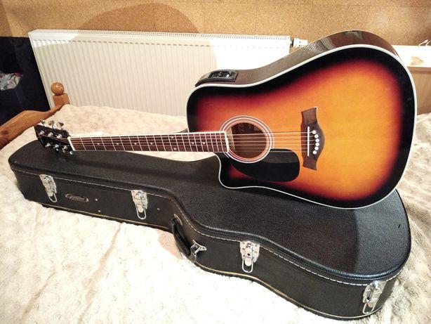 T.Burton Riverside - WCE/BS L Leworęczna gitara elektroakustyczna CASE