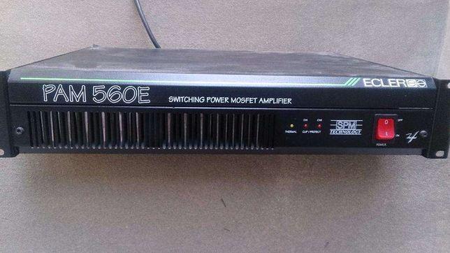 Amplificador ECLER PAM 560E - Usado