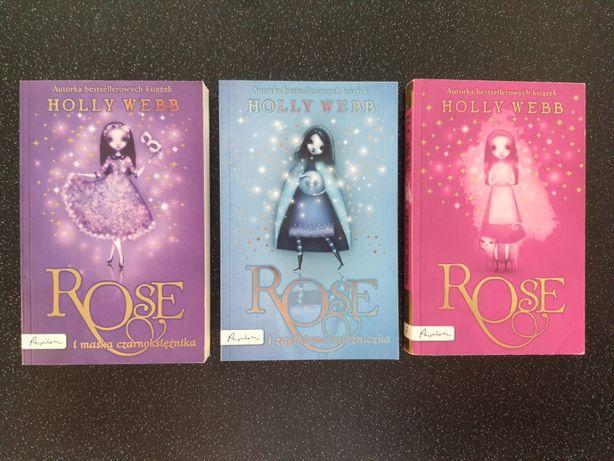 Seria książek Holly Webb - Rose- 3 szt.