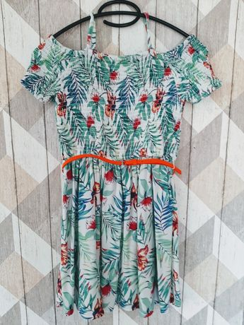 Sukienka na lato letnia C&A r.140