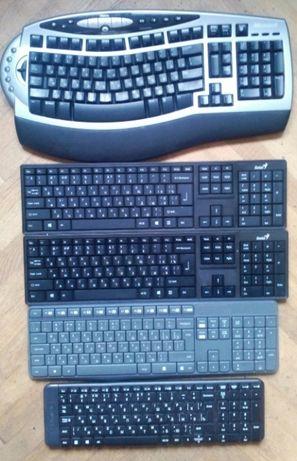 5 шт Беспроводные клавиатуры logitech Microsoft Genius цена за все