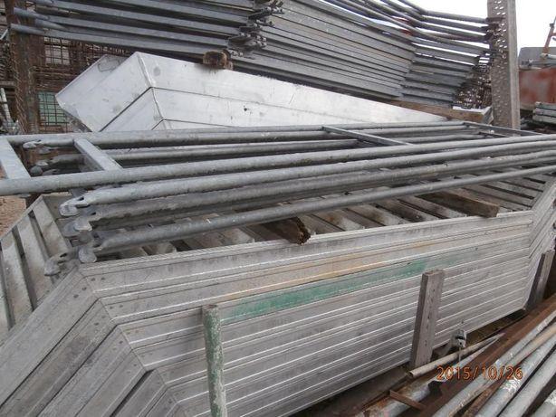 Escadas de Alumínio de Andaime Europeu Peri, Layer, Cuplok - Usado