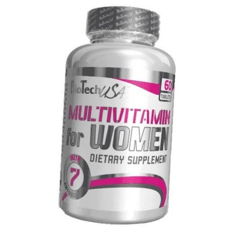 Витамины Multivitamin for Women 60tab, BioTech купить витамины