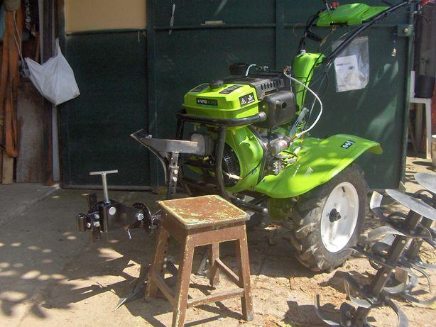 Motocultivador Diesel com transmissão direta Strong Machine 12 CV