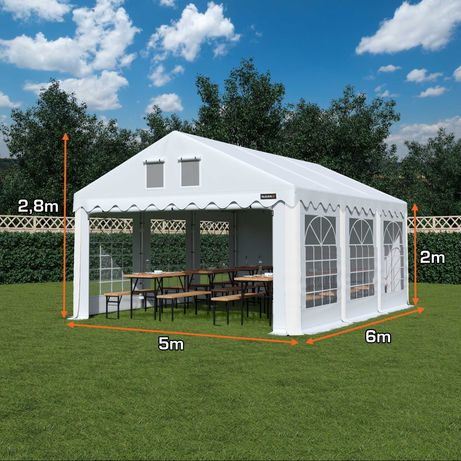 NAMIOT COMFORT 5x6 imprezowy ogrodowy RÓŻNE KOLORY