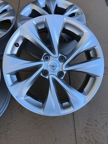Oryginalne alufelgi Opel 4x108 17 cali Crossland X Jak nowe