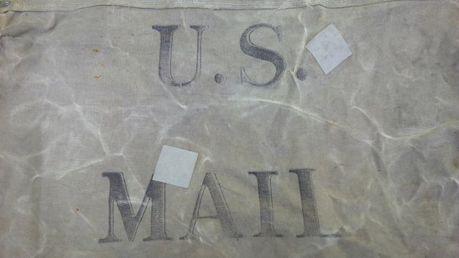 WWII - Segunda Guerra Mundial - Saco de Correio US MAIL