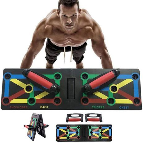 Спортивная доска Push Up Rack Board доска с упорами для отжиманий