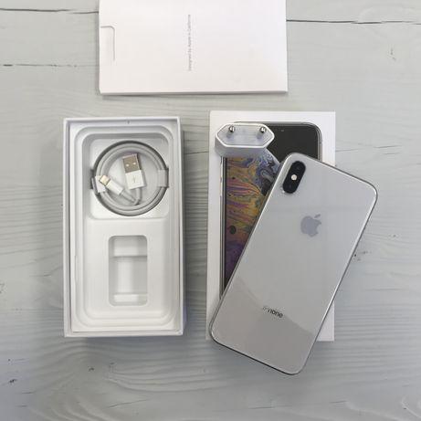 iPhone XS 64 gb neverlock silver, в идеале гарантия/Trade-in/рассрочка