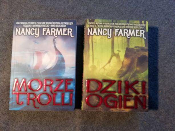 Nancy Farmer-Morze Trolli, Dziki ogień.-2 sztuki.