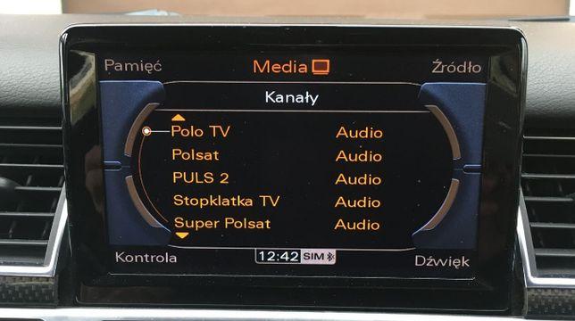 Audi Polskie Menu MMI 3G, 2G, Konwersja z USA na EU