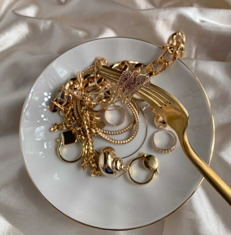złoto złota złom   łańcuszek bransoletka pierścionek 140pln
