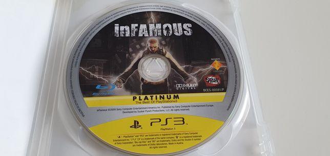 Gra konsola ps3 InFamous PL (NieSławny) sony Playstation