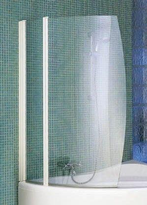 Proteção de Banheira em quarto de círculo- Vidro