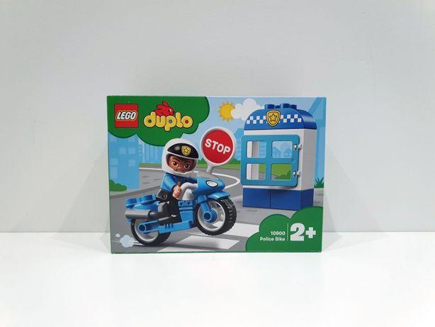 Lego DUPLO 10900 Motocykl policyjny, policja, motor, klocki