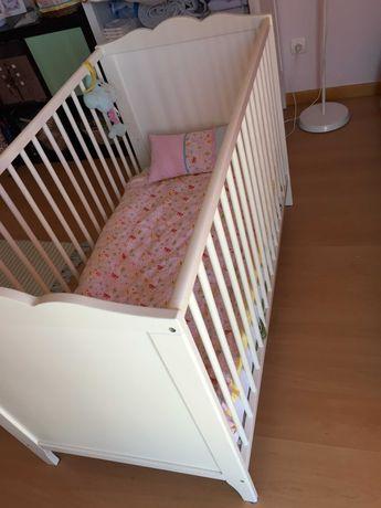 Cama de Grades para Bebé (60 cm X 120 cm)