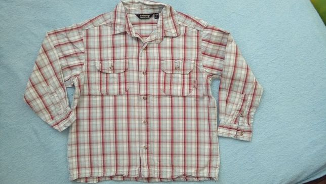 Czerwona koszula w kratę rozm. 104 Tanio!