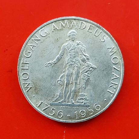 25 шиллингов 1956 1957 1958 1962 Австрия серебро 0.800