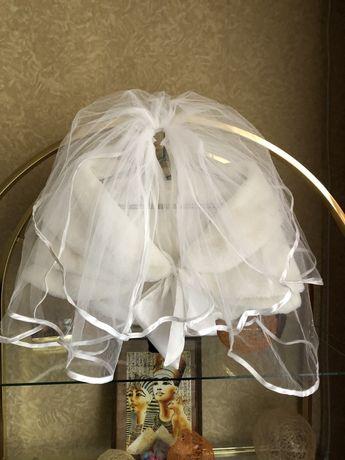 Свадебная накидка  и фата