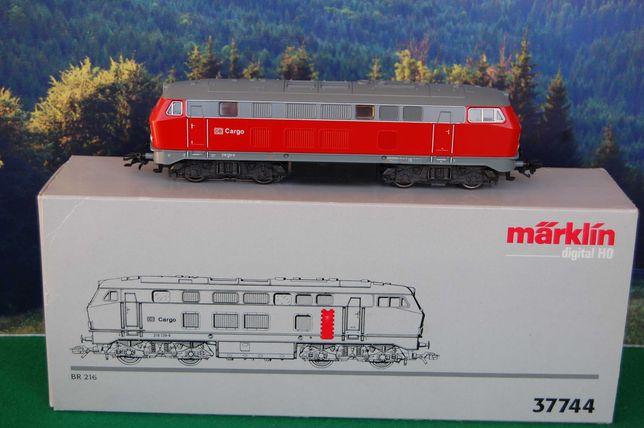 Marklin - locomotiva a diesel BR 216 da DB Cargo com caixa original