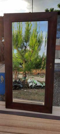 Espelho antigo biselado