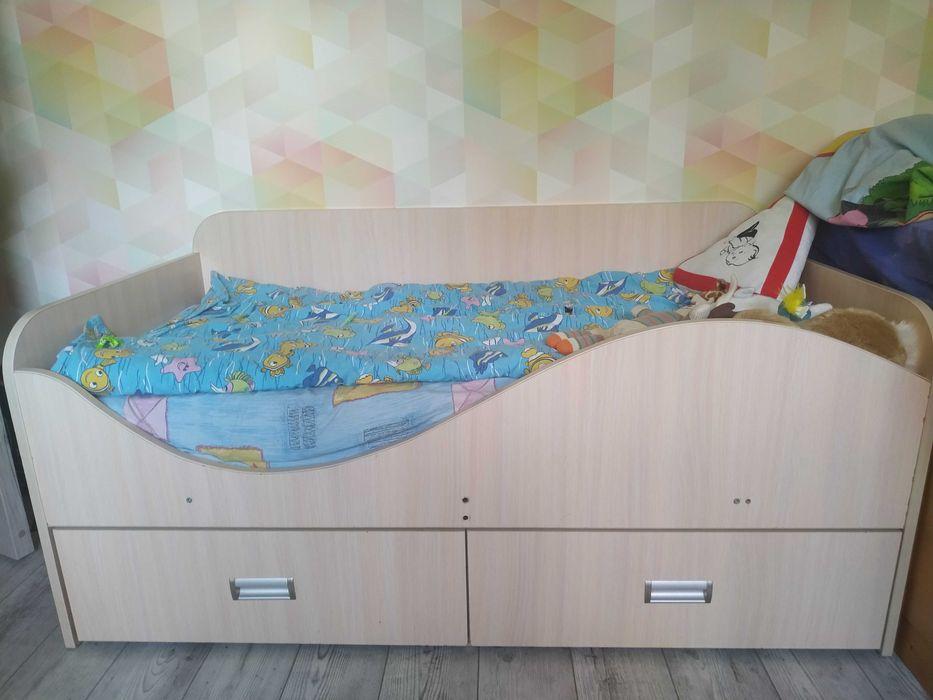 Детская кровать с ортопедическим матрасом Софиевская Борщаговка - изображение 1