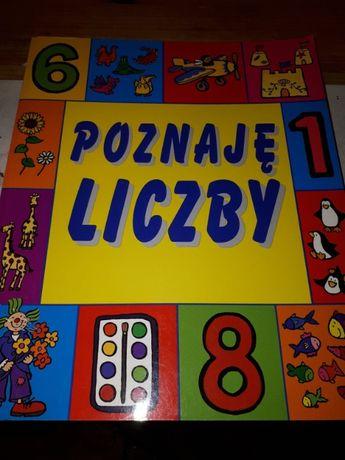 książka dla dzieci Poznaję liczby