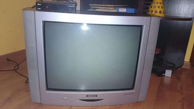 Telewizor 21 cali, dekoder