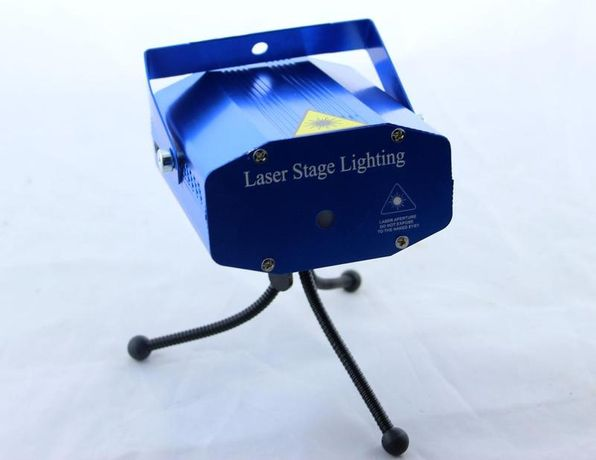 Лазерный прожектор для создания световых эффектов Диско LASER 6in1