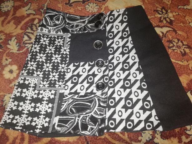 Spódnica wełniana M