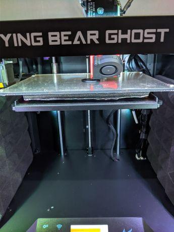 Flying bear ghost 5 3д принтер доработанный
