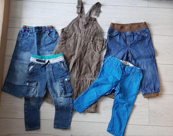 Spodnie chłopięce roz. 86-92 cm