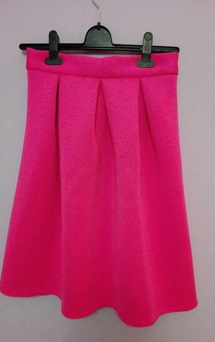 Spódnica neonowy róż Gdańsk - image 1