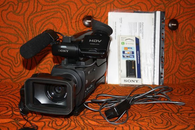 Kamera cyfrowa Sony - CMOS HDV 1080i /mini DV 6,1 mega pixels
