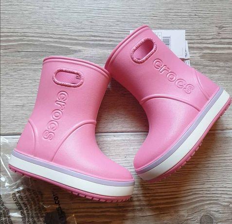 Резиновые сапоги крокс, Crocs гумові чоботи c9,c10,j1, j2