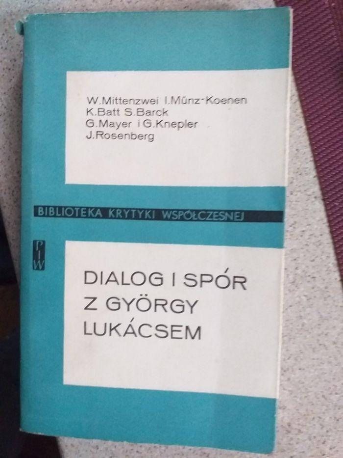 Dialog i spór z György Lukácsem PIW 1984 Warszawa - image 1