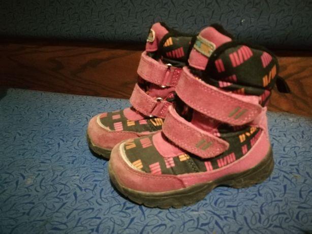 Зимние сапоги сапожки ботинки термо 25р.