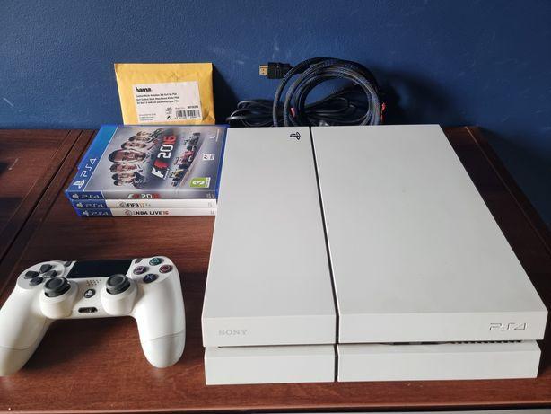 Konsola Ps4 500 GB biała zestaw