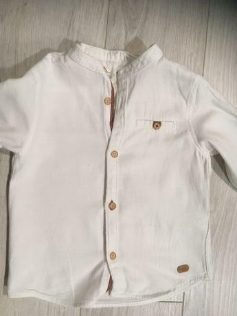 Koszula biala zara 98