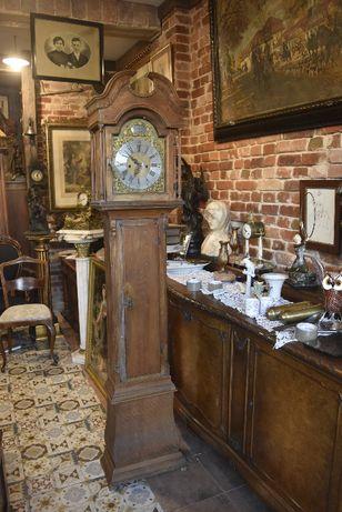 XIX w neobarkowy angielski zegar stojący