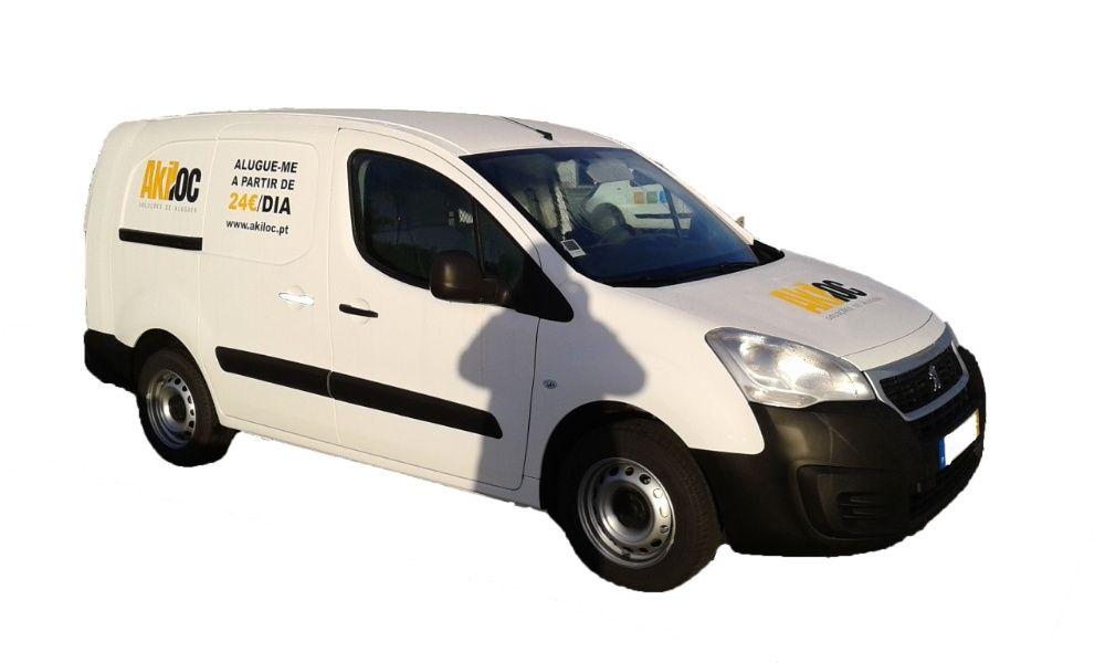 Aluguer de carrinhas comerciais de 3m3 a 18 m3 a partir de