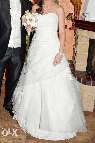 #suknia ślubna -- 36 -- ECRU