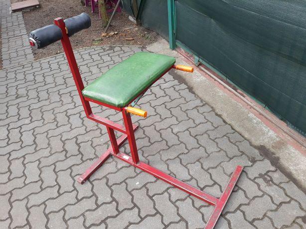 Siłownia, krzesło rzymskie bardzo mocne.