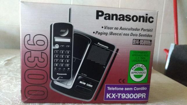 Telefone sem cordão. Marca Panasonic.