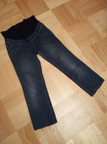 Spodnie jeansowe ciążowe rozmiar 40 granatowe