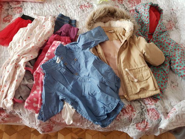 Ubranka 68 paka dla dziewczynki
