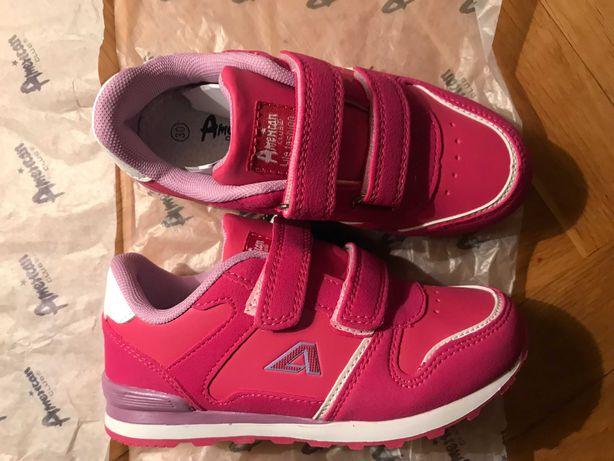 buty dziewczęce American Club, r. 31, skórzana wkładka, nowe