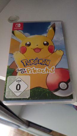 Nintendo switch V1 pełen komplet z grą lets go Pikachu