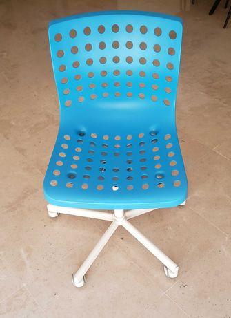 Cadeira para Secretária Criança Ikea Azul